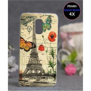 Xiaomi Redmi 4X Eiffel Tower Style 1 Mobile Cover Multi Color
