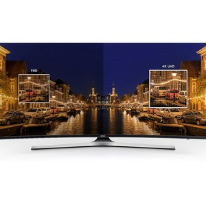Samsung 55 Inch MU7350 Curved 4K UHD TV Black