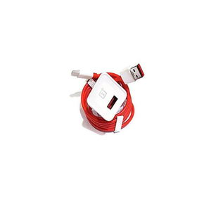 Genuine Dash Charger & Dash Type-C Cable (100 cm) for OnePlus 3 /3T & 5 Red