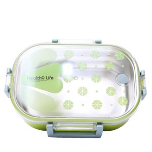 Tedemei Healthy Life Lunch Box Green