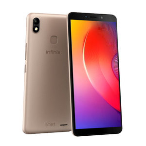 Infinix Smart 2 HD Dual Sim 6.0 Inches Display, 1GB RAM, 16GB ROM, CPU Quad-Core, Smartphone Gold-master