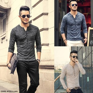 Baniya Pack of Three Basic T-shirts for Men Btee-3 ...