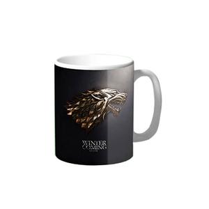 Winter is Coming Stark Game of Thrones Coffee & Tea Mug BB219 Black