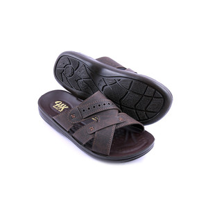 Stylish Slipper For Men GB103 - Brown
