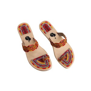 Snf Shoe Stylish Flats Slippers For Women 444 Fawn
