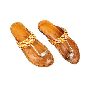 SNF Classic Flats Slippers For Women 447 Golden