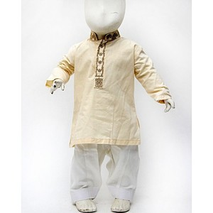 Kidz N Kidz 2 Pcs Embroidered Kurta Shalwar For Bo ...