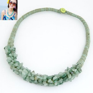 Zardi Stone Necklace For Women AN31 Green