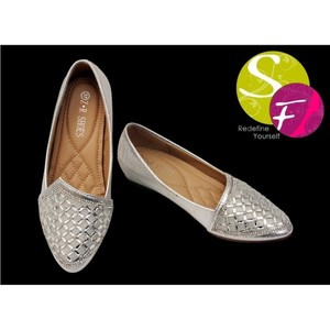 Ladies Pumps Shoes For Women 614 - Silver