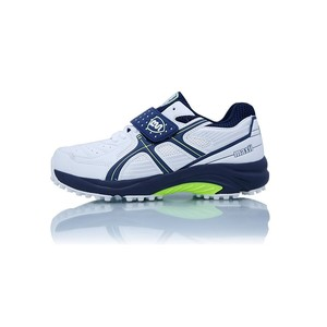 BS Cricket Shoes Maxi Green, Blue and White
