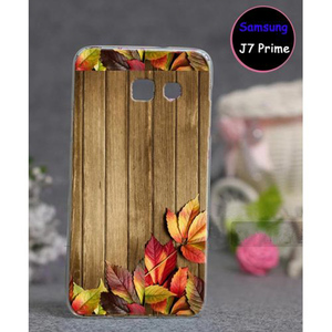 Samsung J7 Prime Wood Style 3 Mobile Cover Multi Color