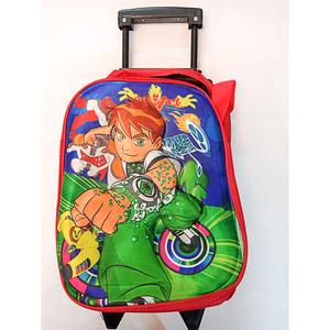 Ben 10 Logo Slider School Bag Multicolor