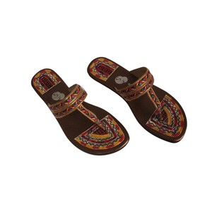 Snf Shoe Stylish Slippers For Women 444 Brown