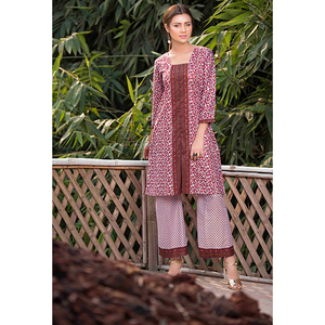 Sitara Studio 2 Pcs Unstitched Lawn Suit SC6124-002-00A Pink