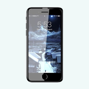 Baseus 0.3mm Tempered Glass Film for iPhone 7, iPhone 8 Plus SGAPIPH8P-KA01 Black