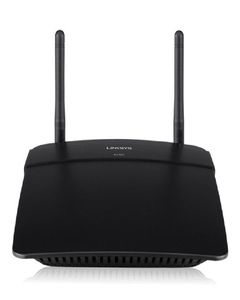 LinkSys N300 Wi-Fi Router E1700 Black