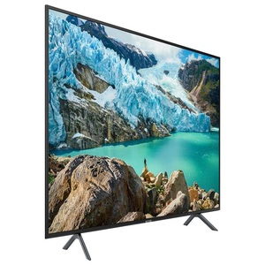 "Samsung 55"" UHD 4K Smart Led Tv Ru7100 Black"