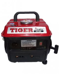 TIGER 0.65 KVA 2 Stroke Petrol Generator TG950 Red