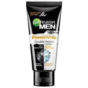 GARNIER Men Face Wash Power White Double Action 100 ml