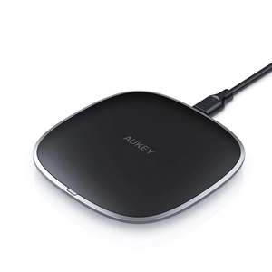 Aukey LC-Q6 Graphite Q 10W Wireless Fast Charger Black