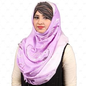 Pashmina Hijab For Women Pm016 Purple