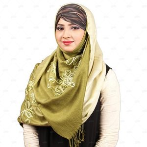 Pashmina Hijab For Women Pm015 Green