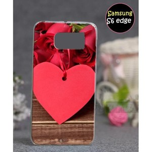Samsung S6 Edge Mobile Cover Love Style SA-3362 Re ...