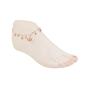 Fashion Cafe Anklet for Women KA-550 Golden