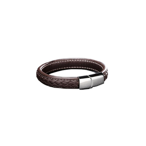 Julke Phoenix Leather Bracelet for Men JUL-413 Brown