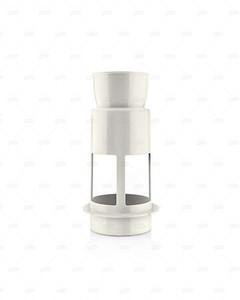 Philips 350W Viva Collection Juicer, Blender, Grinder & Chopper HR1847/00 White & Grey