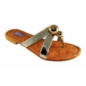 Walkeaze Flat Slippers for Women 34966S Silver