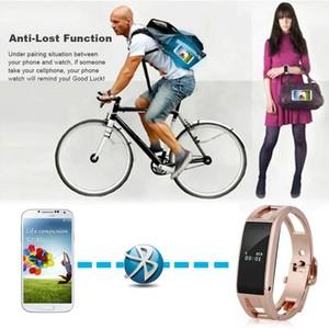 Bluetooth Smart Bracelet Watch Sync Call SMS Music ...