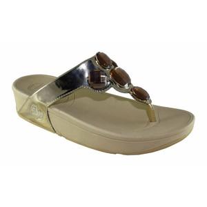 Walkeaze Fancy Slippers for Women 94619S Silver