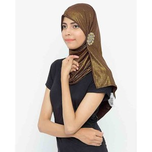 Jersey Handmade Hijab For Women Olive Green
