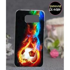 Samsung S6 Edge Cover Football SA-5014 Multi Color
