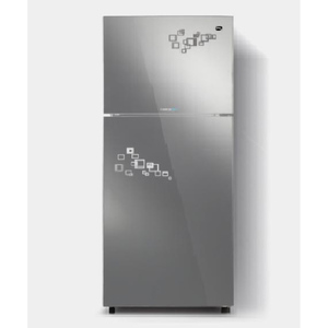 PEL Curved Glass Door Inverter Refrigerator PRINVOGD 20190 Silver