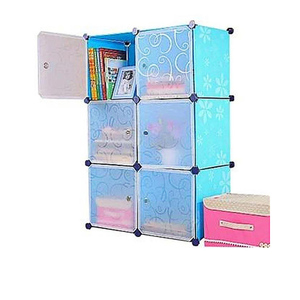 Oddity Diy Storage Cabinet OD58 Blue