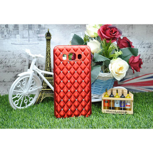 Women Girl Cute Bowtie Candy Crystal Bling Stone Ladies Cover For Samsung J5 2016 Red