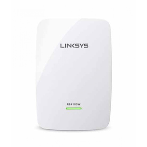 Linksys N600 Dual Band Wireless Range Extender (RE4100W) White