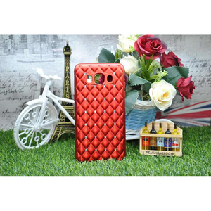 Samsung Galaxy J5 2016 Red Women Girl Cute Bowtie Candy Crystal Bling Stone Cover for Samsung Galaxy J5 2016 Red