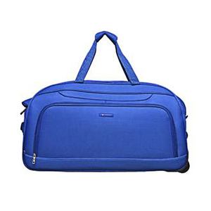 Carlton Dart Duffle 62 cm Trolley with Wheels AHE-24 Blue