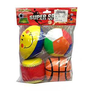 Stinnos Pack of 3  Stuffed Sports Toys Multicolor
