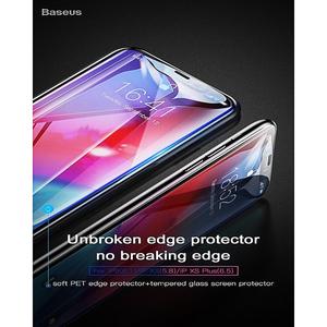 Baseus Iphone Xs Max 6.5 Glass Protector 0.3Mm Black