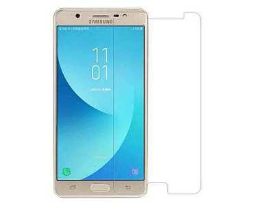 Tempered Glass Protector For Samsung J7 Max Transparent