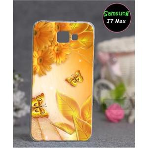 Samsung J7 Max Floral Cover SA-791 Yellow
