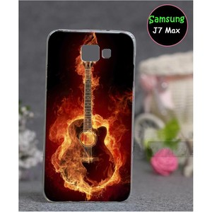 Samsung J7 Max Guitar Cover SA-785 Red