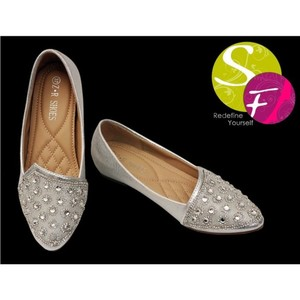 SnF Shoes Heels Shoes For Women Golden