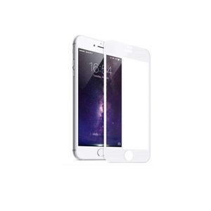 5D Tempered Glass Protector for iPhone 7 White