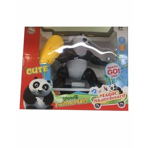 Stinnos Magic Skateboard Panda Toy Multicolor