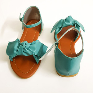 Flat Sandals for Women WI137 - Turquoise